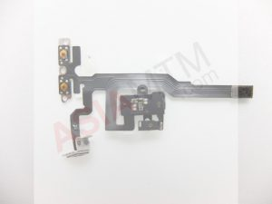 iP4S Volume Key Flex With All Parts Black