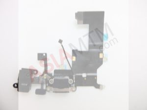 iP5 Charge Port Assembly Black