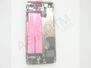 iP5S Rear Housing Populated Gold Inside