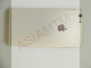 iP6PLUS Rear Housing Blank Gold Outside
